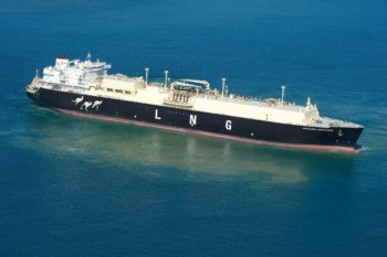 Woodside Donaldson LNG carrier
