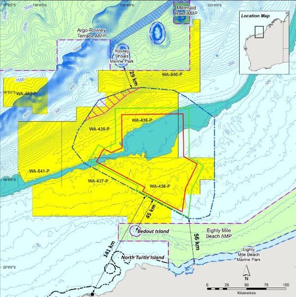 Santos Bedout Sub Basin survey area