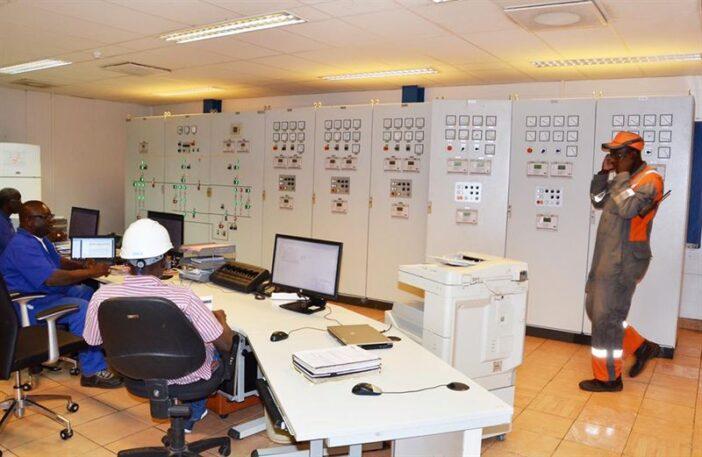 Wartsilia Senegal Control room
