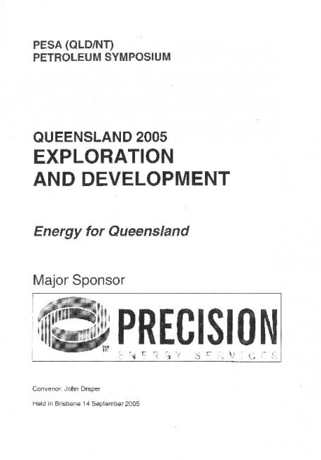PESA (QLD/NT) Petroleum Symposium – Exploration and Development – Energy for Queensland